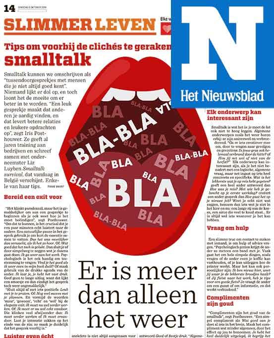 Nieuwsblad-artikel over Smalltalk survival